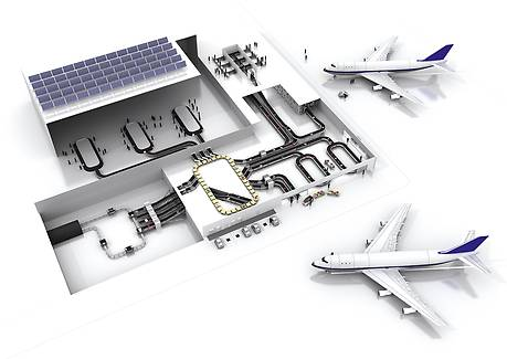 Overview of the baggage handling process