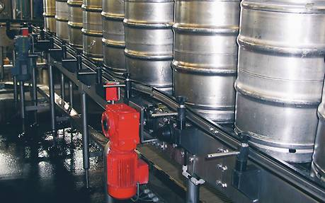 Raw materials supply in the beverage industry
