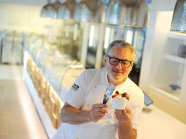 Georgio Ballabeni, Seniorchef von Ballabeni Icecream.