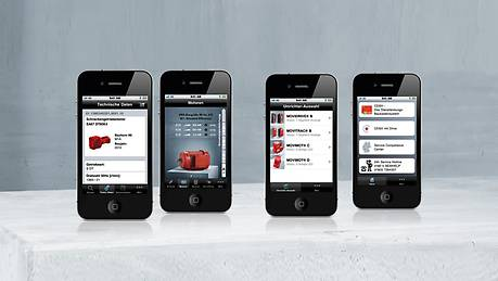 Mobile applications from SEW-EURODRIVE