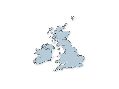 Service locations in United Kingdom