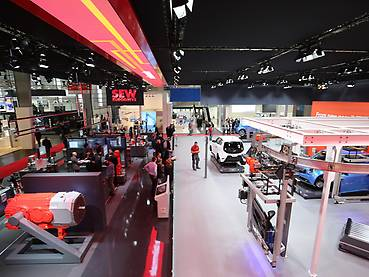 HANNOVER MESSE / View downstairs