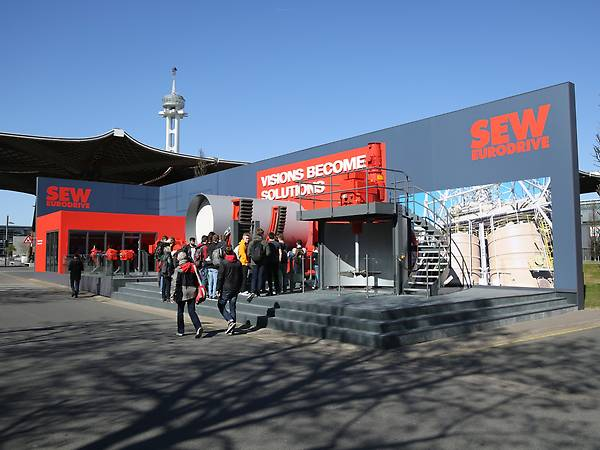 HANNOVER MESSE / Outdoor area / Industrial gear units