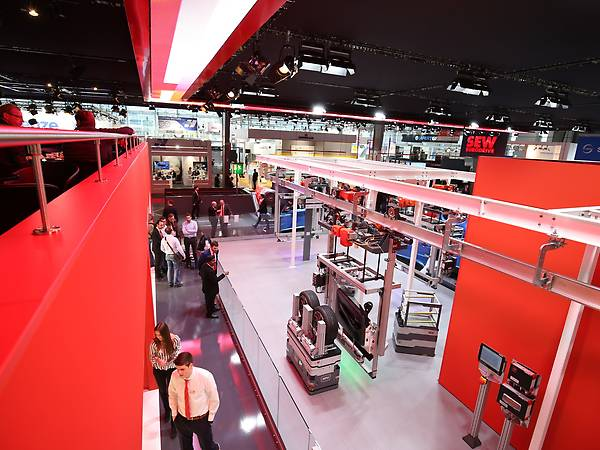 HANNOVER MESSE Messestand / Smart Factory