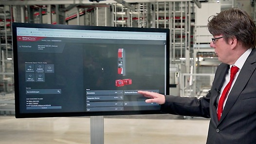 DriveRadar® on the example of warehouse logistics with Steffen Pfaadt