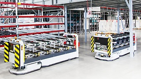Mobile assistance systems from SEW‑EURODRIVE in the factory