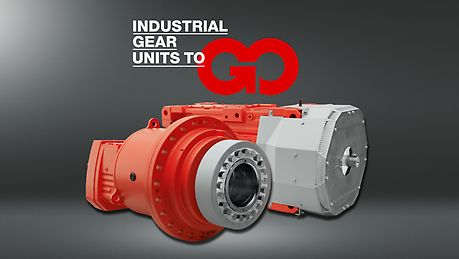 Industrial gear units to go