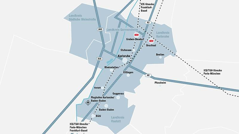 Our Bruchsal location in the Karlsruhe technology region SEWEURODRIVE