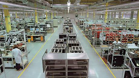 Award-winning electronics production plant