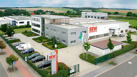 Drive Technology Center East in Meerane, near Zwickau