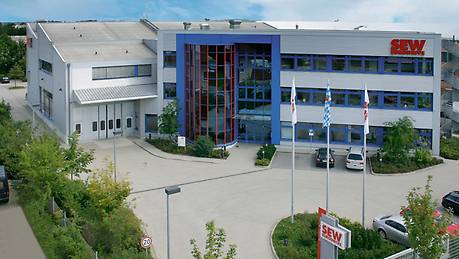 Drive Technology Center (DTC) South in Kirchheim, near Munich