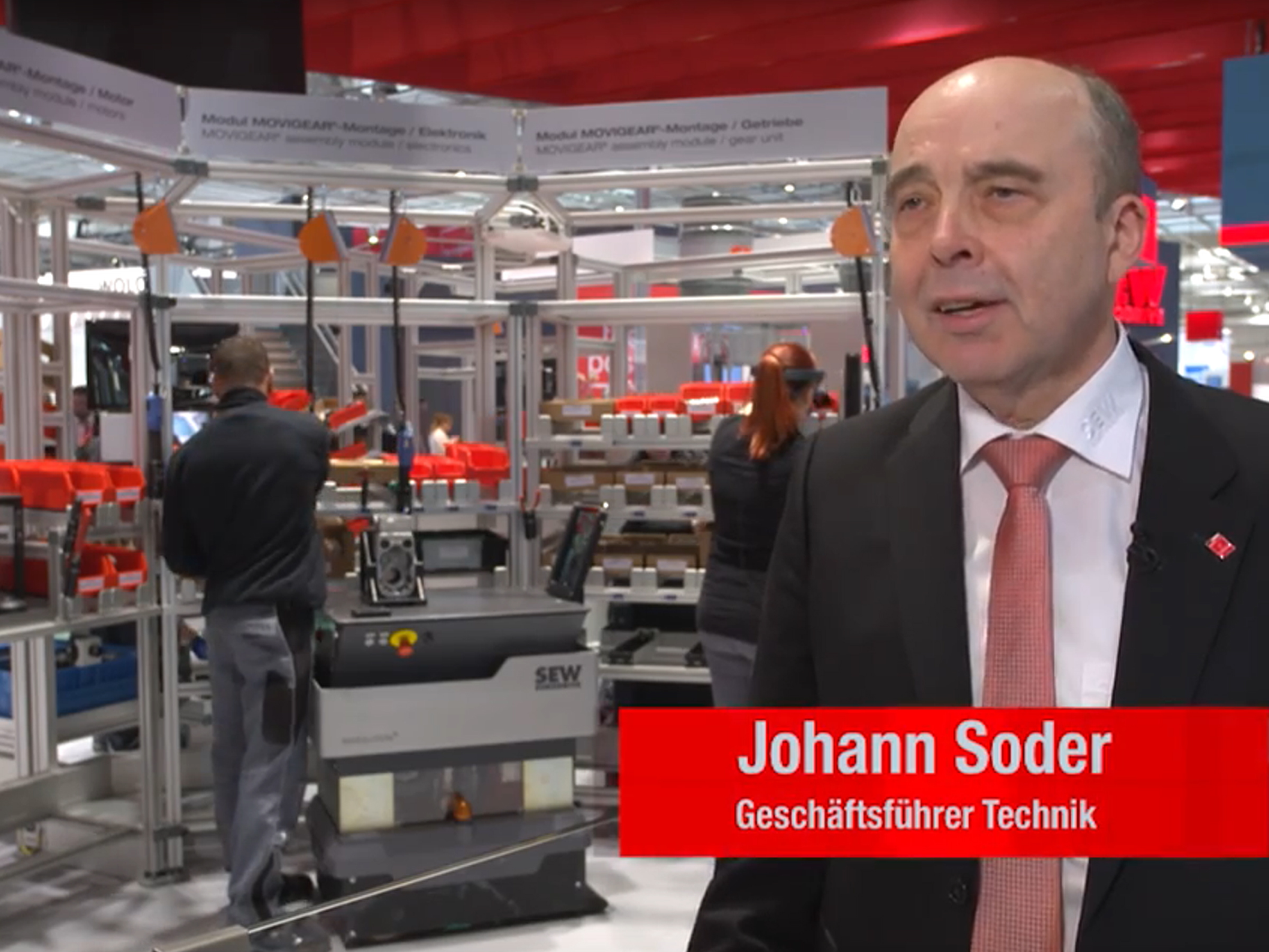 HANNOVER MESSE Interview Johann Soder Industrie 4.0