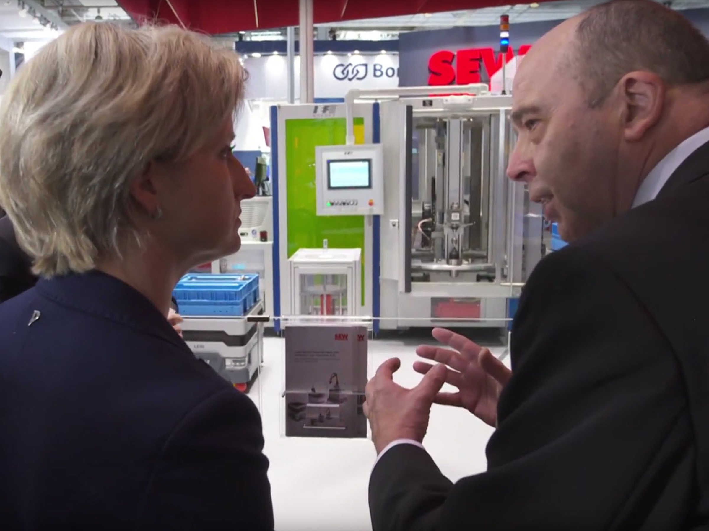HANNOVER MESSE - Minister for Economic Affairs / BaWü